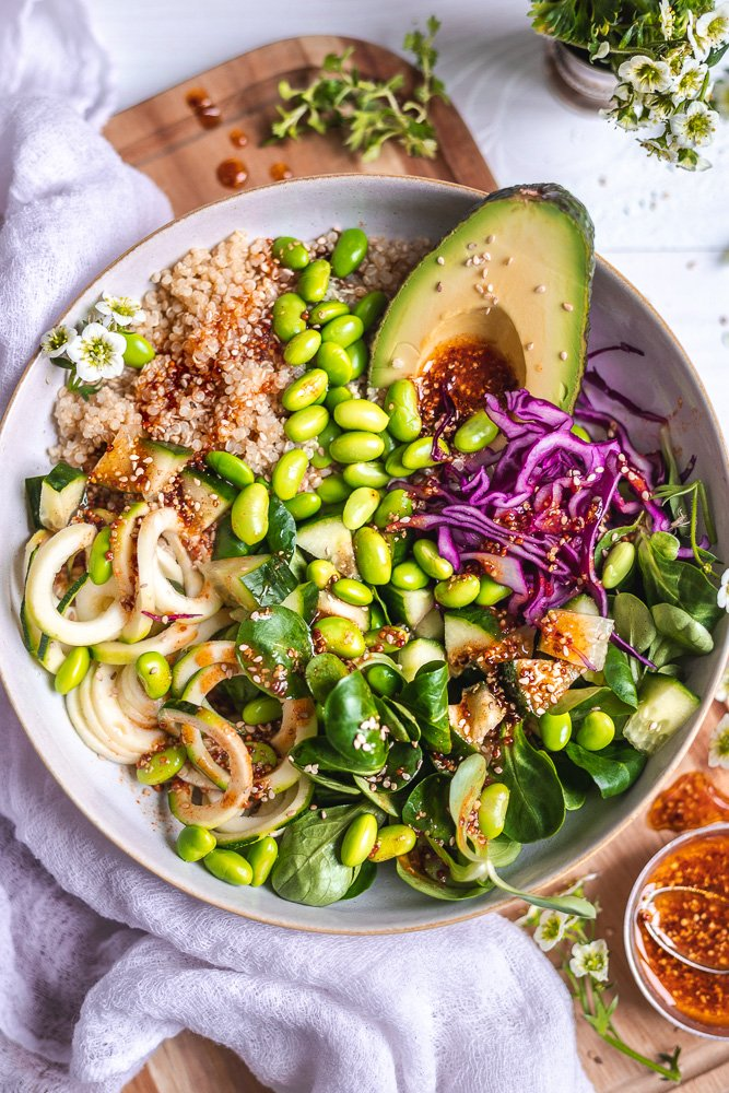 Vegan Nourish Bowls: Vegan and Healthy Buddha Bowl