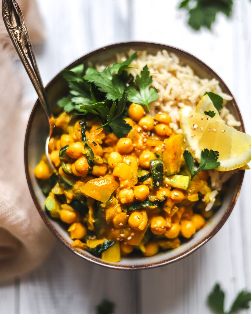 Quick Chickpea Curry