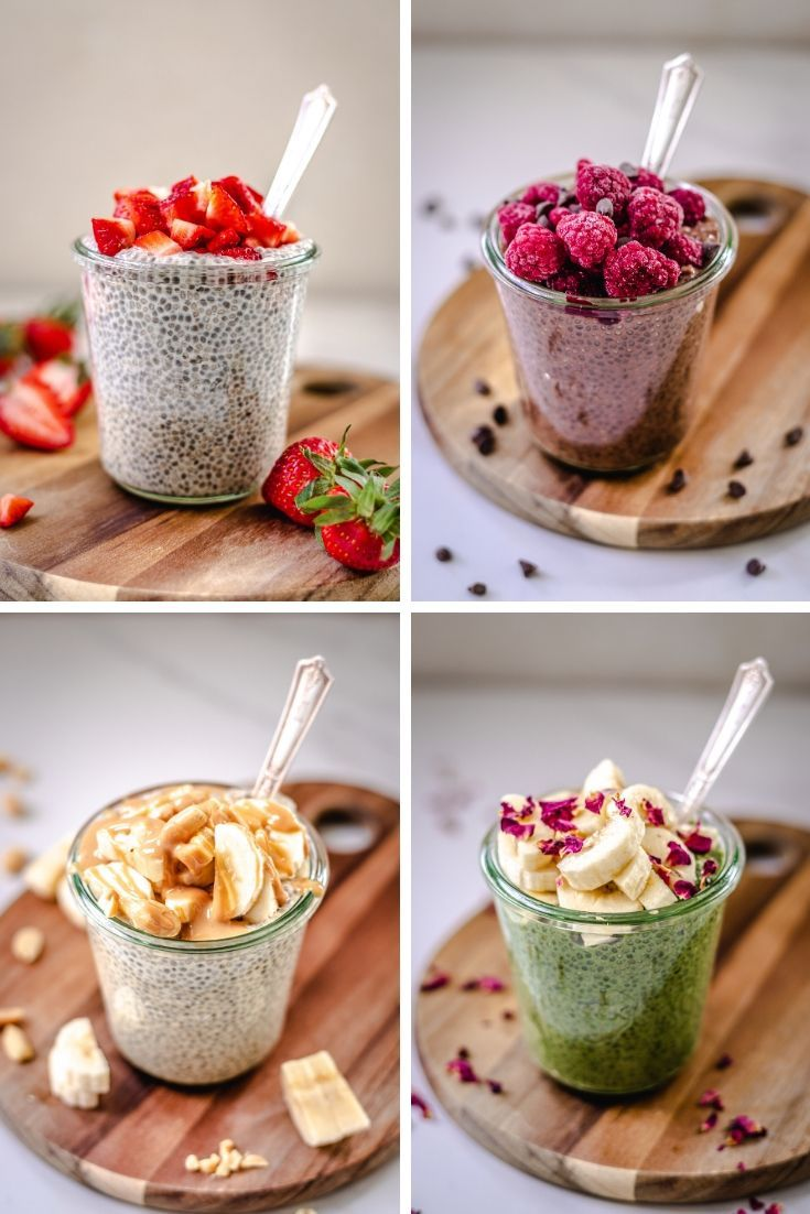 how to make chia pudding 4 ways